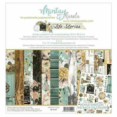 Mintay by Karola - Life Stories - 12 x 12 Collection Pack