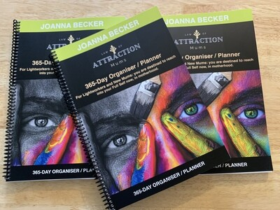 Law Of Attraction Mums 365-Day Organiser and Planner