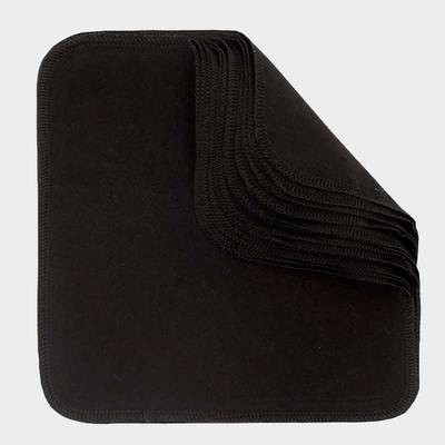 Washable & Reusable Wipes - Black