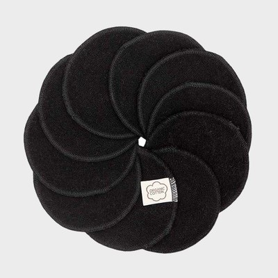 Washable cleansing pads - black