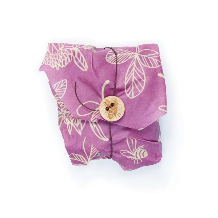 Bee's wraps - sandwich wrap Mimi's purple