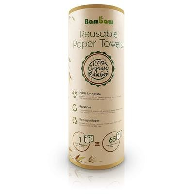 Bamboo reusable & washable 'paper' towels.