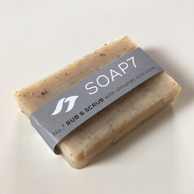 Naked Soap - Rub & Scrub