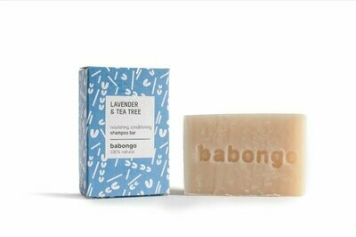 Shampoo bar - Lavender & tea tree