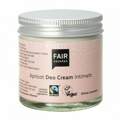 Intimate Deo Cream - Apricot - Zero Waste - 50ml