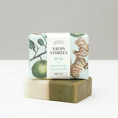 Soap Bar n°10 - Green Detox - Face & Body