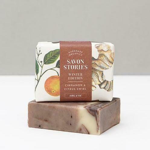 Soap Bar - Cinnamon & Citrus Swirl - Face & Body