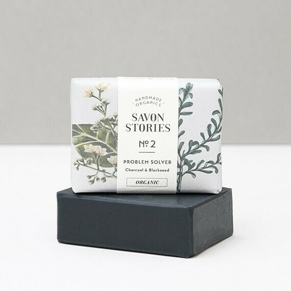 Soap Bar n°2 - Problem Solver Charcoal & Blackseed - Face & Body