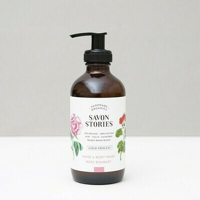 Hand & Body Wash - Rose Bouquet -240ml