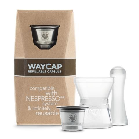 Reusable & Refillable pod for Nespresso - Waycap