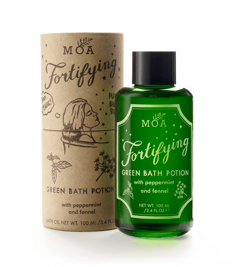 Fortifying Green Bath Potion