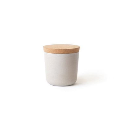 Claro Small Storage Jar - Stone