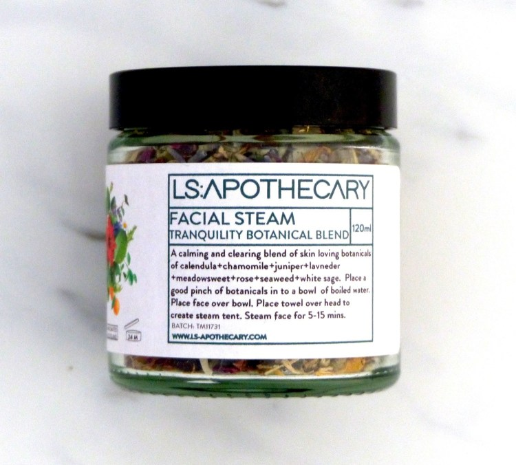 Facial Steam - Tranquility Botanical Blend