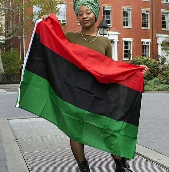 Pan African Flag Flag001