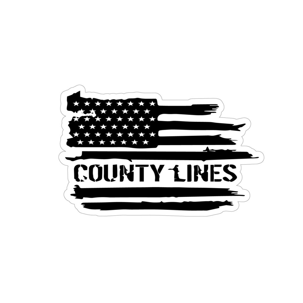 County Lines Original Sticker