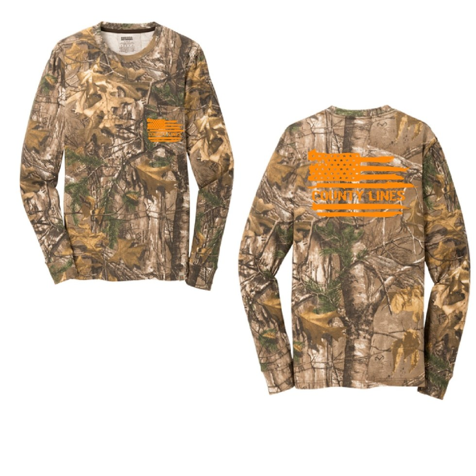 County Lines Camo Long Sleeve
