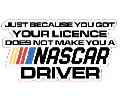 New Driver | NASCAR Sticker