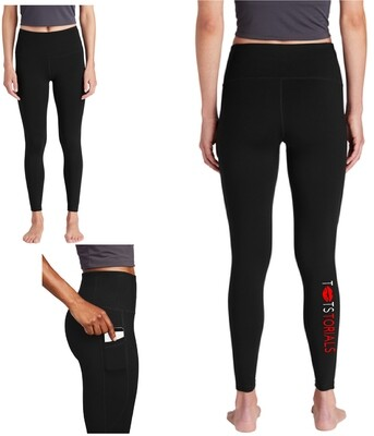 Tootstorials Ladies High Rise Leggings