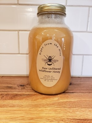 Raw Unfiltered Honey  5lb