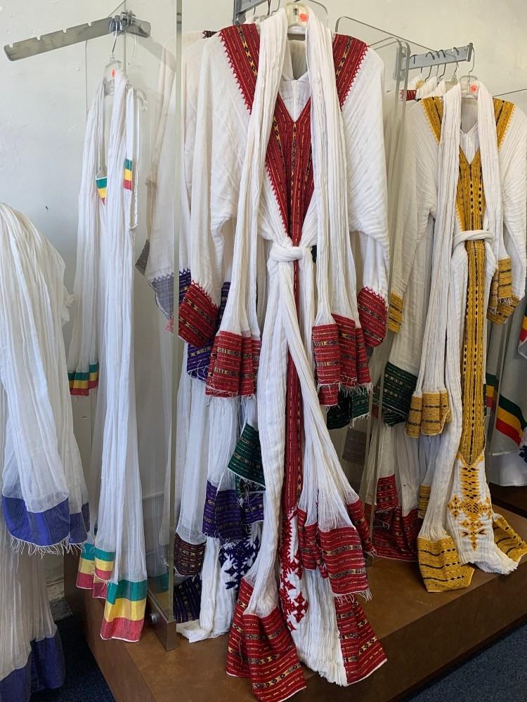 Ethiopian Traditional Cloth - Women Yehager libs 00063