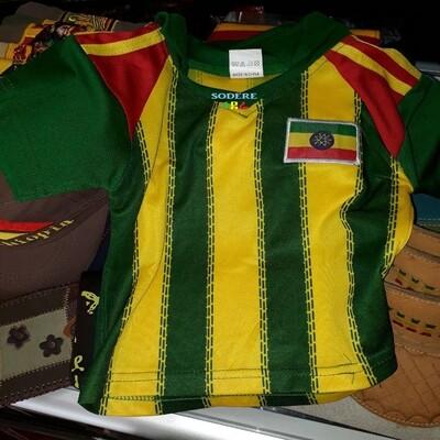 የኢትዮጵያ ማልያ ቲሸርት Ethiopian National team t-shirt
