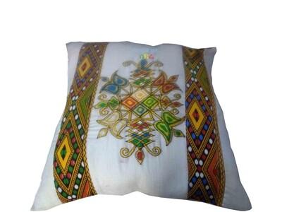 የትራስ ልብስ Pillow Cover Ethiopian