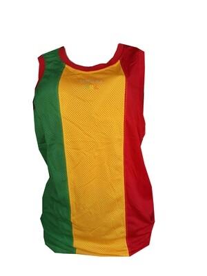 የኢትዮጵያ ባንዲራ ያለበት አላባሽ  Ethiopian Flag T-shirt