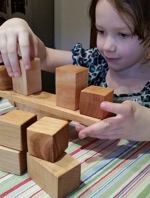 Balance Toy and Block Set