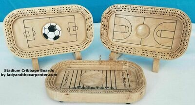 Cribbage Board: Sports Stadium