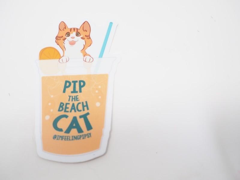 Pip in a Cup Sticker