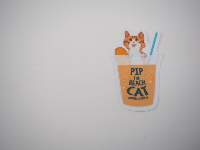 Pip in Cup Small Sticker 3