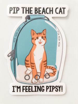 Pip In His Bubble Sticker