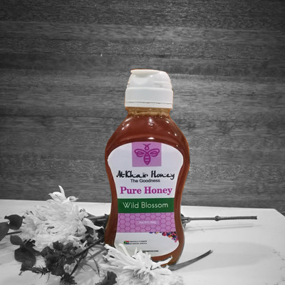 Pure Honey, Wild Blossom, 500g Squeeze Bottle