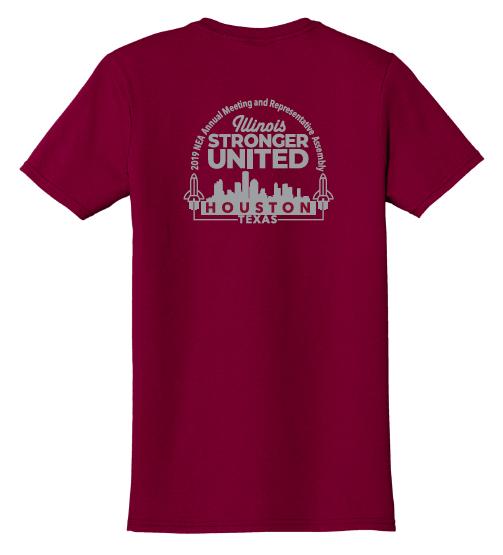 NEA RA Delegate - Stronger United T-Shirt