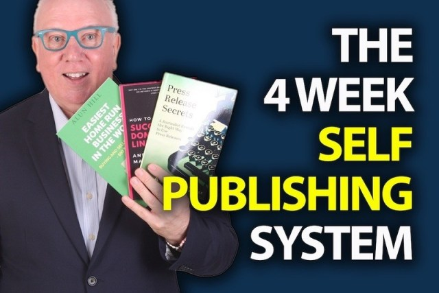 Alun Hill's 4 Week Self Publishing System