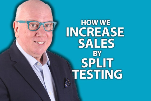 How We Increase Sales By Split Testing