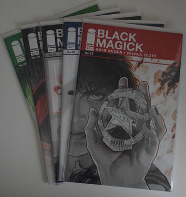Black Magick #1-5