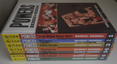 Powers Deluxe HC Lot