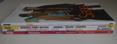 IMAGE Comics TPB Lot