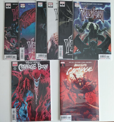 Donny Cates Symbiote Lot