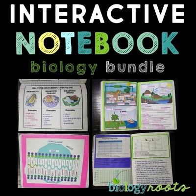 Biology Interactive Notebook Bundle