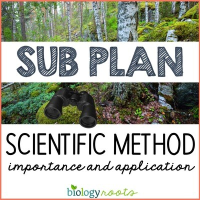 Science Literacy Sub Plan- SCIENTIFIC METHOD