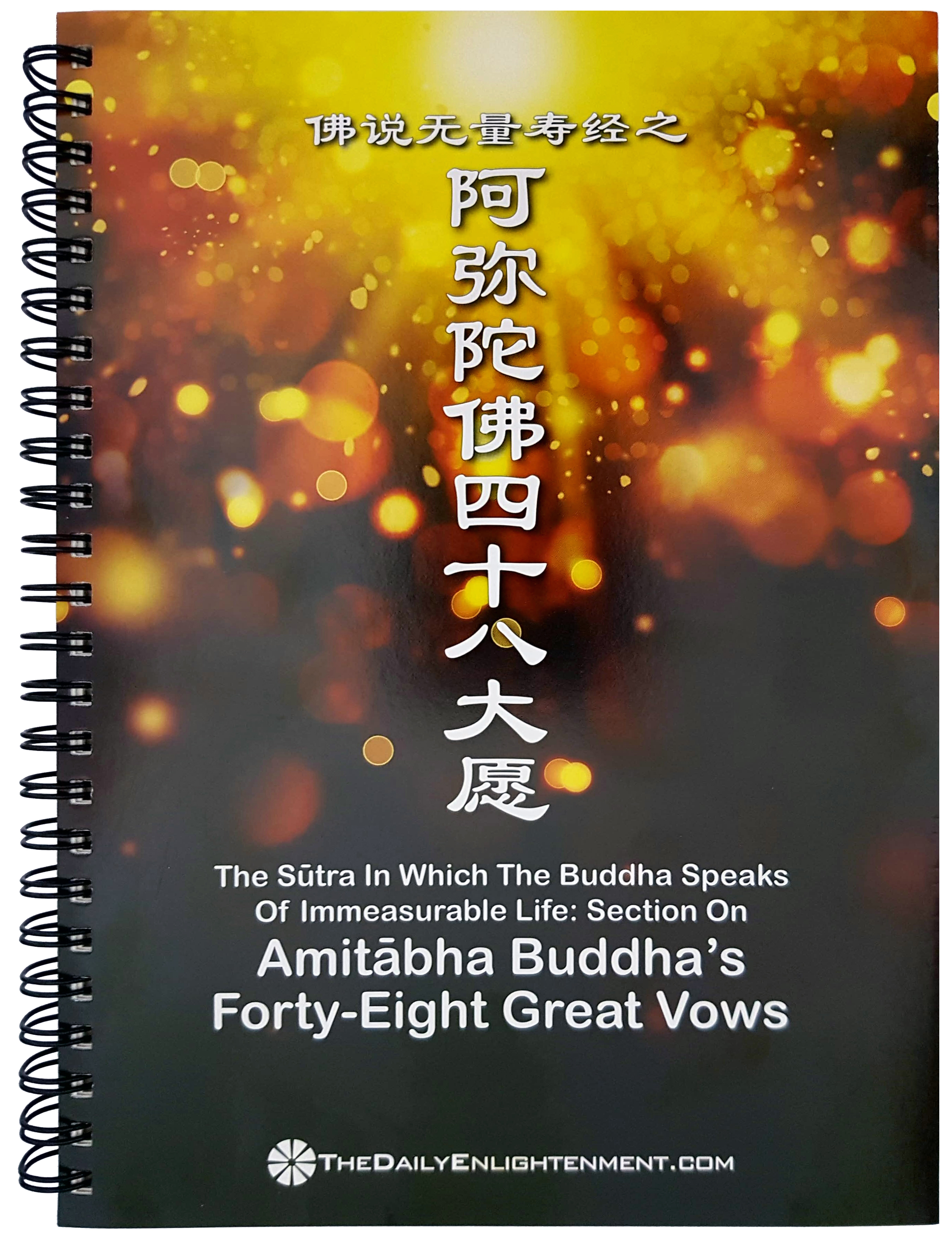 Amitabha Buddha's  Forty-Eight Great Vows ST007