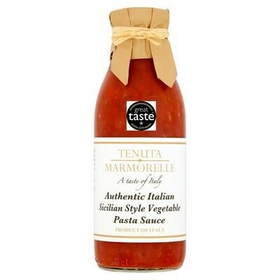 Tenuta Marmorelle Sicilian Vegetable Pasta Sauce