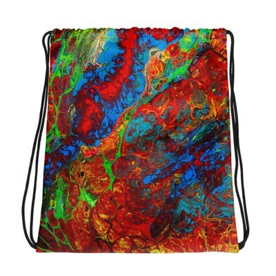 I'm Just a Pour Boy Printed Drawstring bag