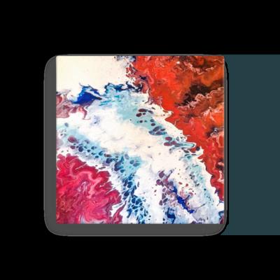A Crimson Tide Canvas Art Print