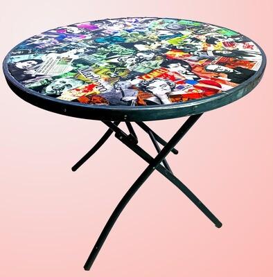 Smoker's Lounge Patio Table