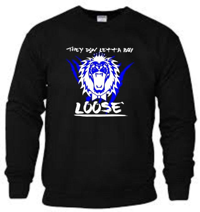 King Roscoe They Don Letta Boy Loose Sweatshirt