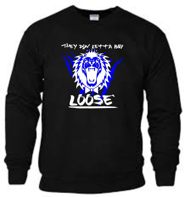 King Roscoe They Don Letta Boy Loose Sweatshirt