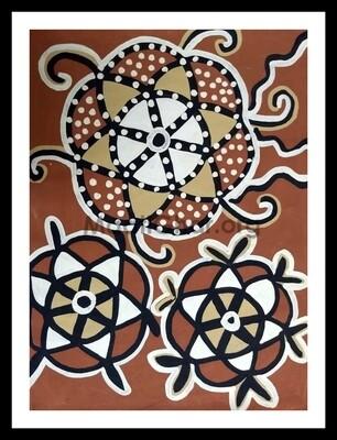 Sohrai Painting - Kamalban (30x22 in)